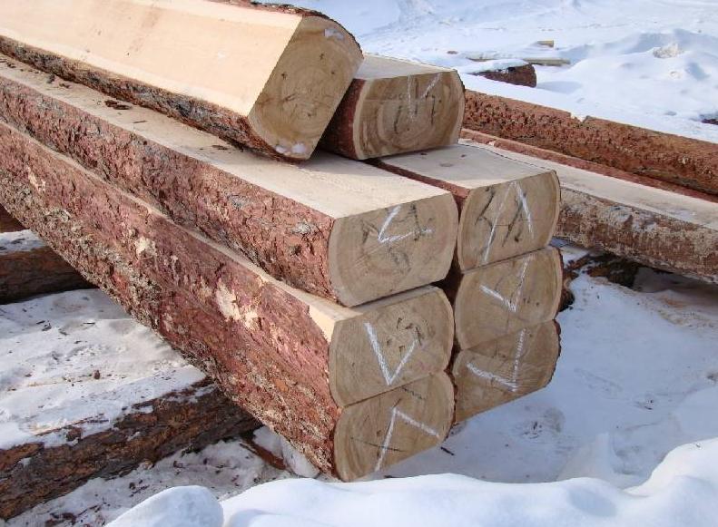 подготовка древесины зимой